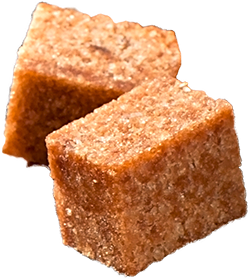 Brown Suggar Cubes for coffee