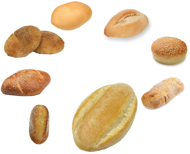 eight types of mexican bread